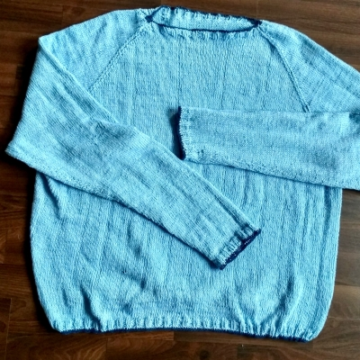 Sarahs first sweater