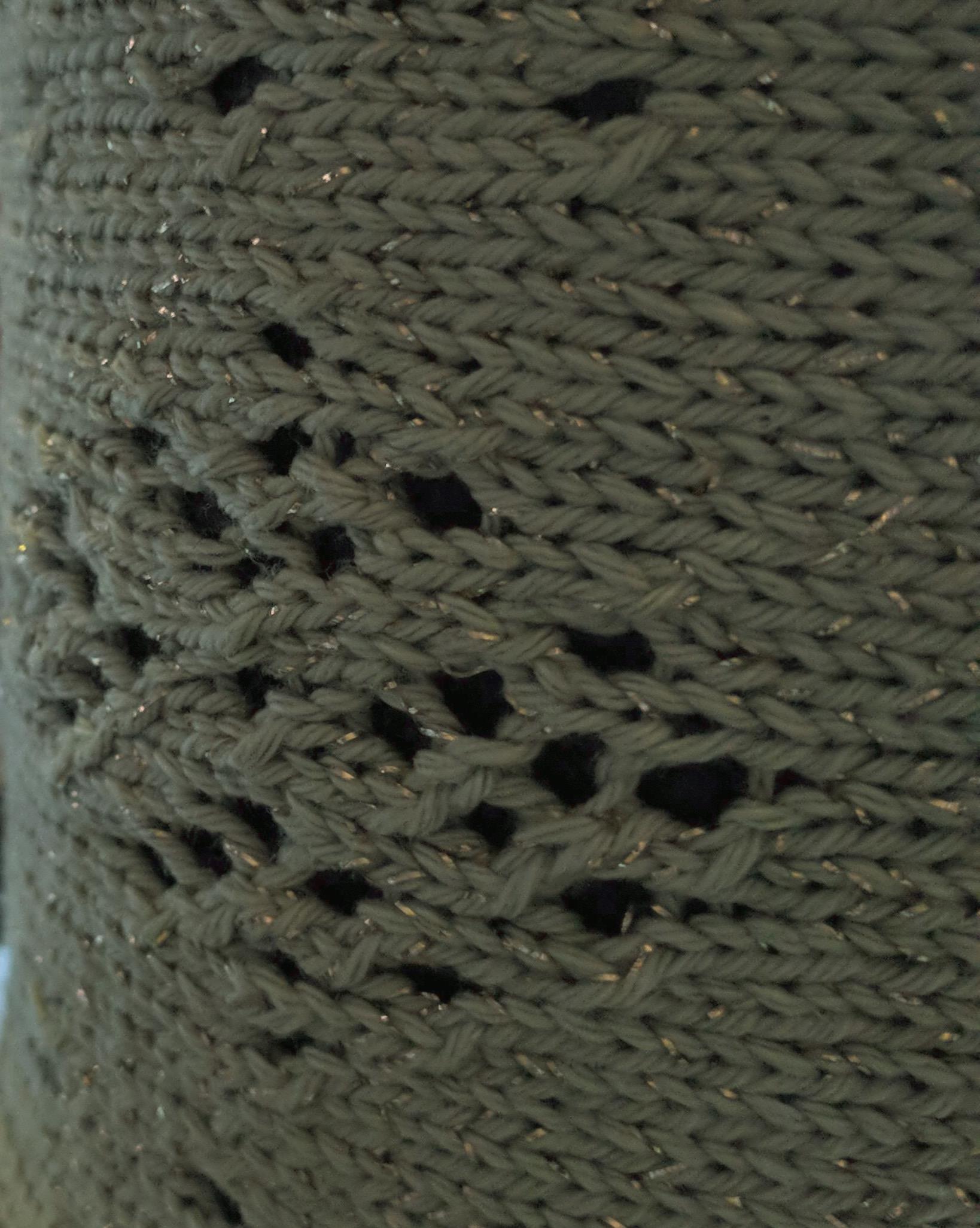 Knitted potwrap